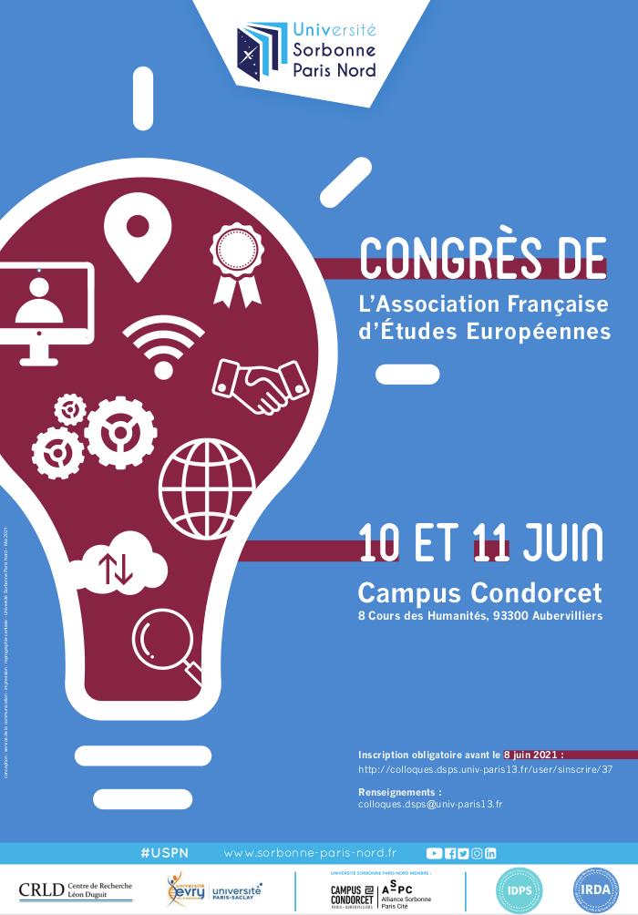 Congrès de l'AFEE 2021 – les 10 & 11 juin 2021