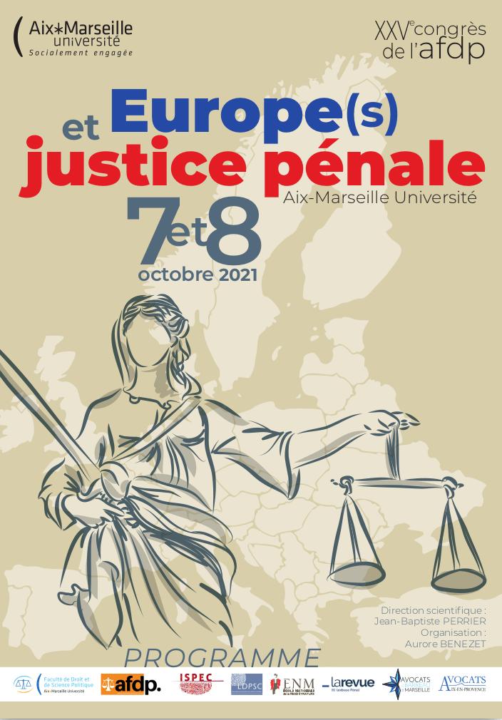 Europe(s) et justice pénale